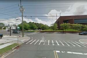 Moss Avenue and White Street intersection in Danbury, Conn.