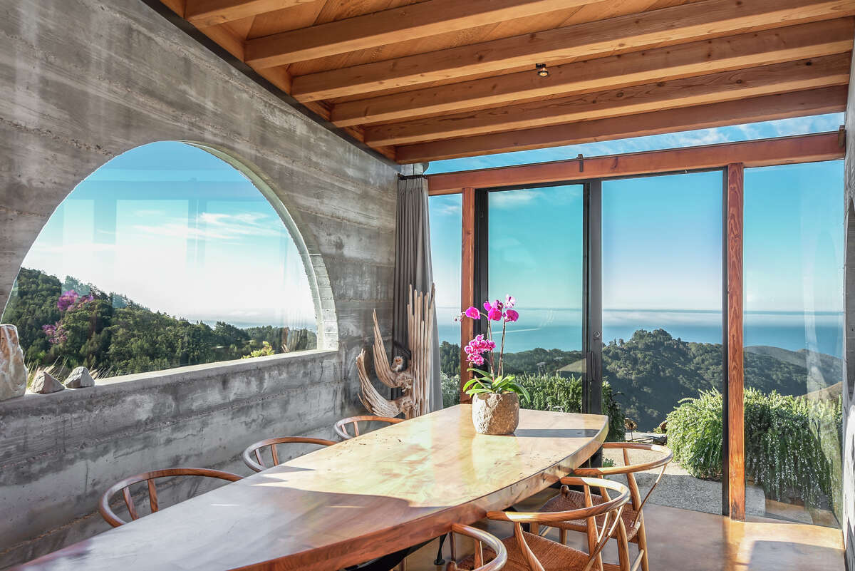Designed by a renowned architect, this Big Sur $4.9M home is one-of-a-kind.
