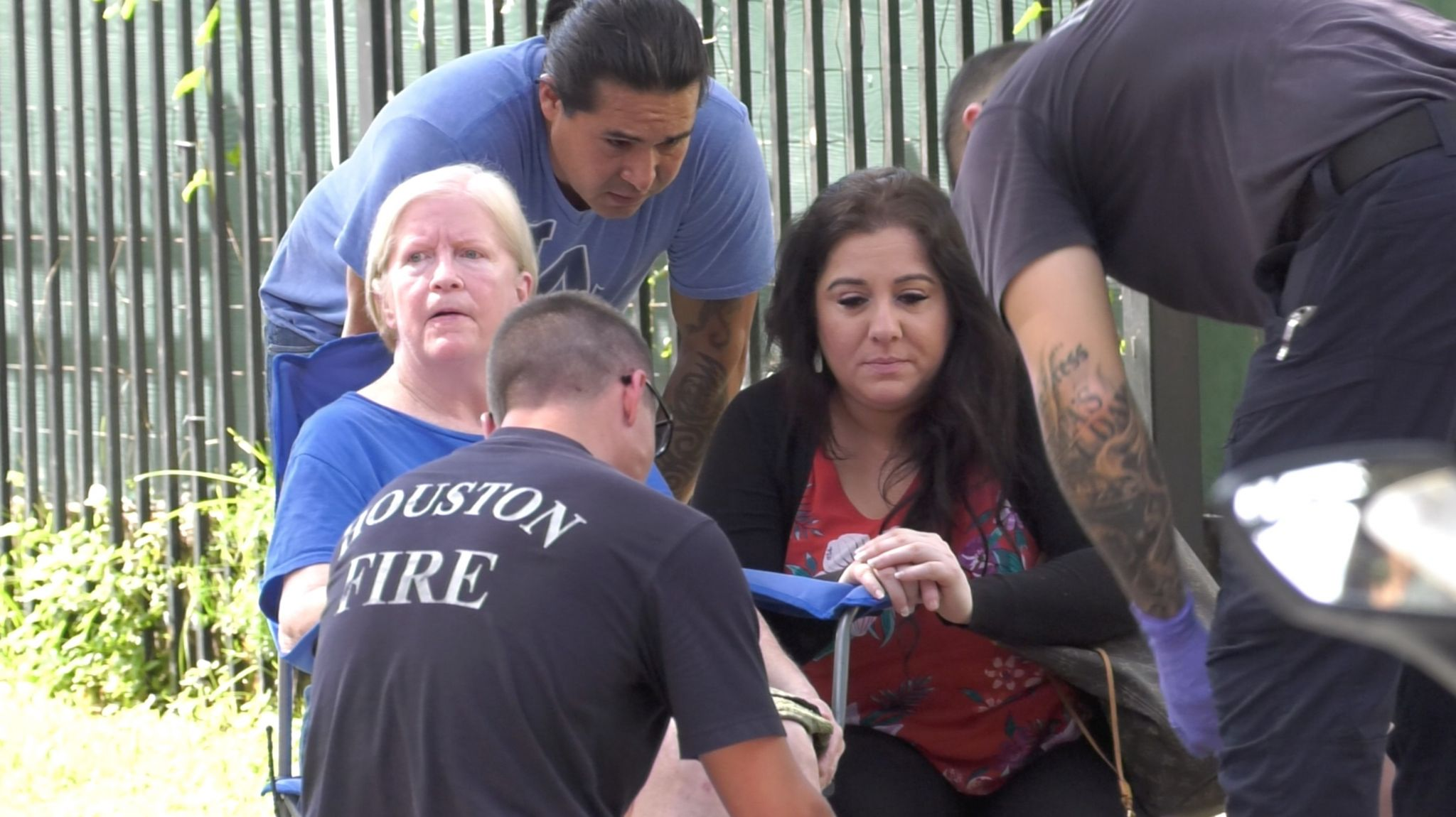 Four rescued from boarding house fire in Houston's Midtown