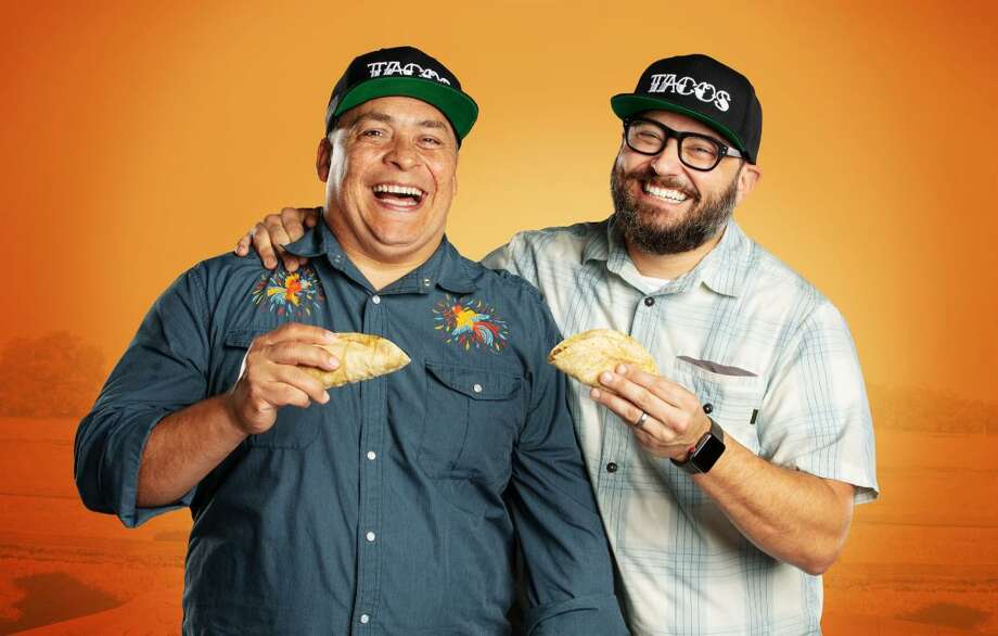 """United Tacos of America"" is a new, eight-episode docu-travel series on El Rey Network exploring the culinary and cultural aspects of tacos in America hosted by taco journalists Mando Rayo and Jarod Neece. Photo: El Rey Network"