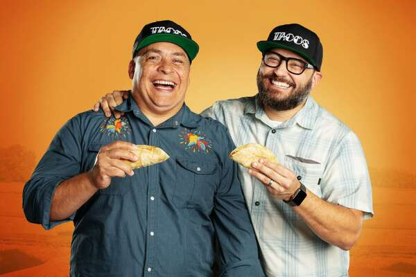"""""""United Tacos of America"""" is a new, eight-episode docu-travel series on El Rey Network exploring the culinary and cultural aspects of tacos in America hosted by taco journalists Mando Rayo and Jarod Neece."""