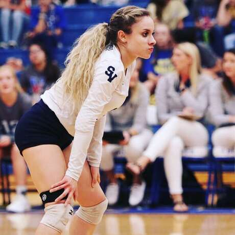 Smithson Valley volleyball player Ashley Acuna
