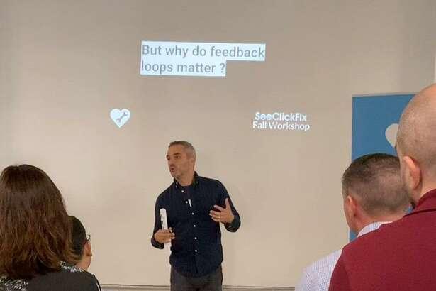Ben Berkowitz, chief executive officer of SeekClickFix