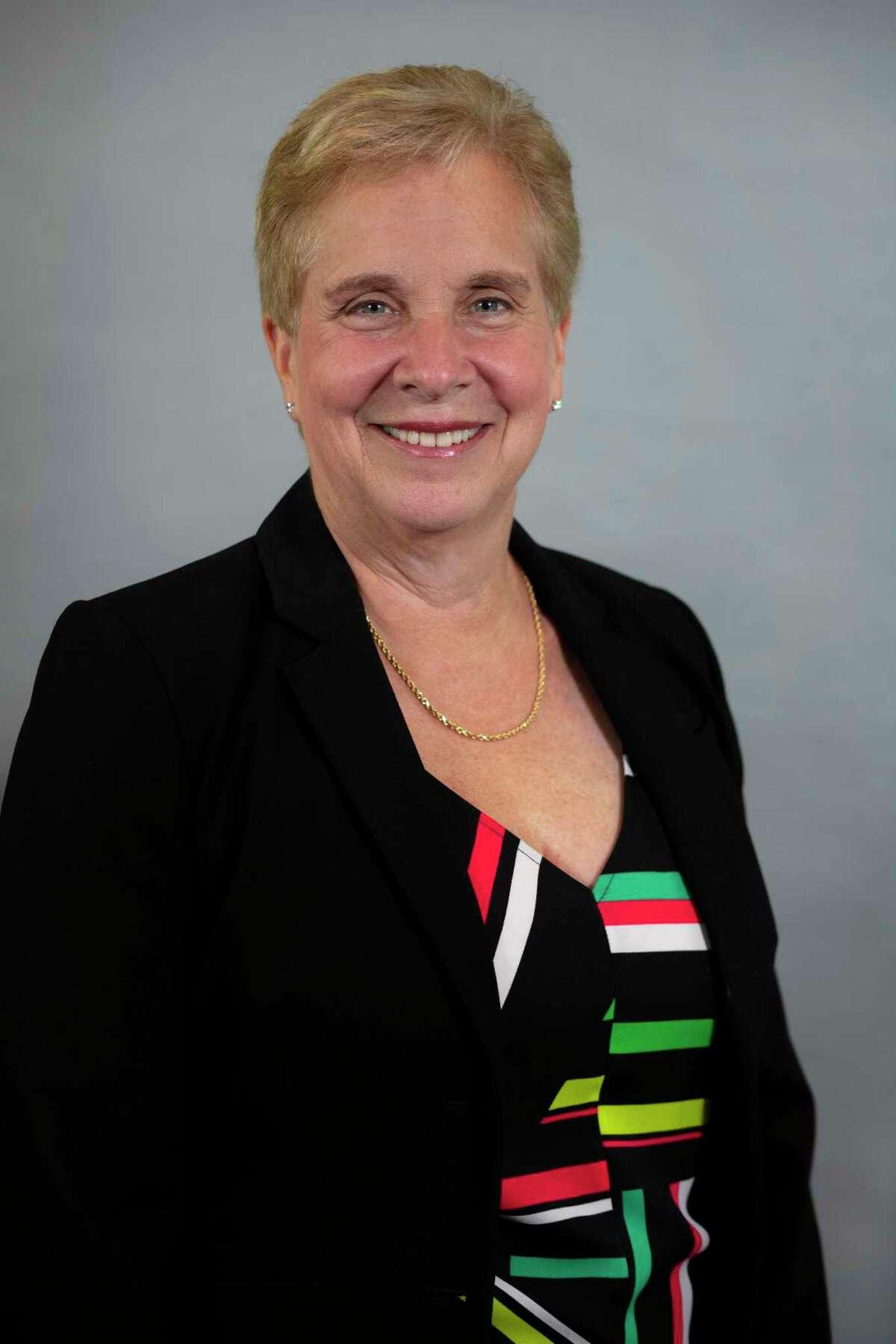 First Selectman Vicki Tesoro