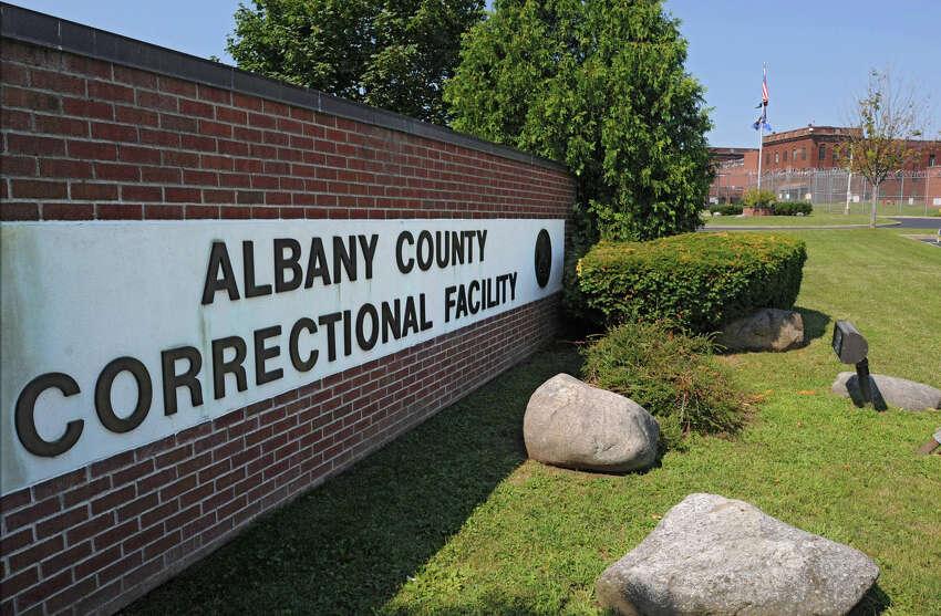 Exterior of the Albany County Jail in Colonie, N.Y. (Lori Van Buren / Times Union)