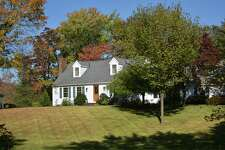 A Hattertown Road home listed for sale in mid-October in Newtown, Conn. by Re/Max, with the town's sale transactions up 7 percent through the first nine months of 2019, slightly ahead of the gain for Fairfield County as a whole.