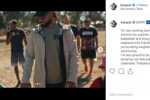 """""""Respecting the land, acknowledging the people and enjoying the rich history of San Antonio this long weekend is what I'll be doing. Identity is everything,"""" Spur Patty Mills said on his Instagram account, @balapat, on Monday as San Antonio recognized Indigenous Peoples Day."""