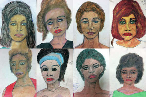 This combination of undated sketches provided by the FBI shows drawings made by admitted serial killer Samuel Little, based on his memories of some of his victims. Little, who claims to have killed more than 90 women across the country, is now considered to be the deadliest serial killer in U.S. history, the Federal Bureau of Investigation said.