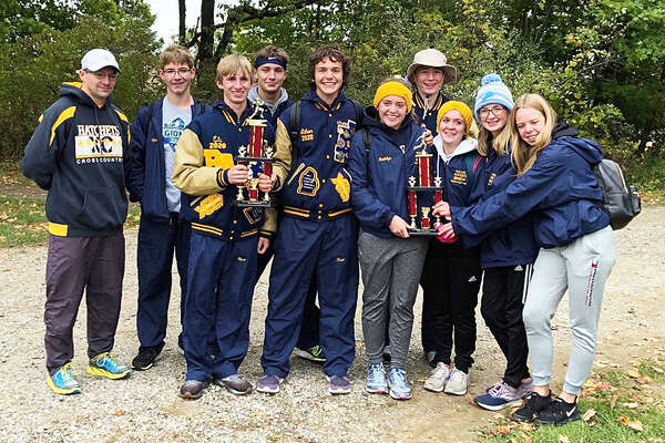 The Bad Axe boys and girls cross country teams finished first at the Dave Patterson Challenge Invite in Mayville.