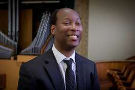 """Canadian-Nigerian organist Kola Owolabi will perform works by Georg Muffat, Francisco Correa de Arauxo and Dietrich Buxtehude at a special """"Choral Evensong for All Saints & Organ Recital"""" at Trinity Episcopal Church in Fairfield's Southport section on November 3."""