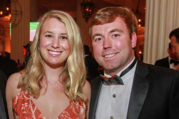 EMBARGOED FOR SOCIETY REPORTER UNTIL OCT. 15 Grant Gunter, from left, Georgia Nolan and Garrett Gunter at the Children's Museum of Houston gala at The Corinthian on October 12, 2019.