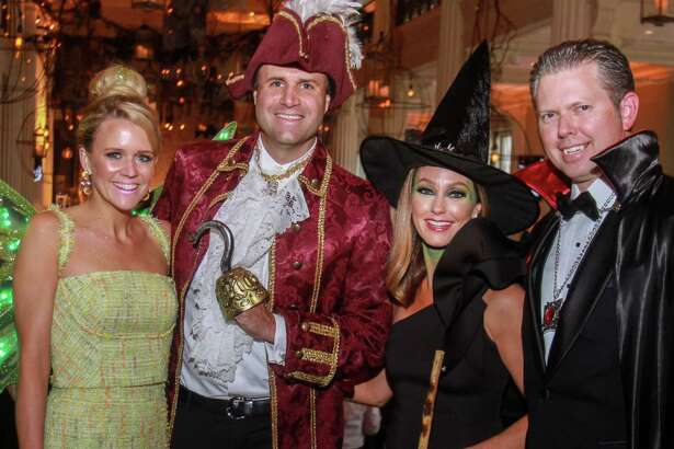 EMBARGOED FOR SOCIETY REPORTER UNTIL OCT. 15 Co-chairs Bret and Lindsey Zorich, from left, and, Walter and Ashley Weathers at the Children's Museum of Houston gala at The Corinthian on October 12, 2019.