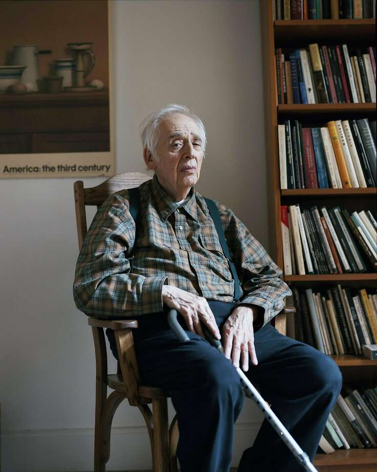 Harold Bloom was a prodigious literary critic who appeared on college syllabuses and bestseller lists. Photo: Mark Mahaney / New York Times 2011