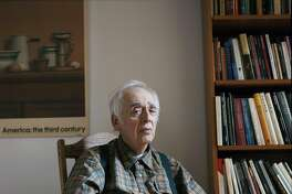 FILE -- Harold Bloom in New York on March 12, 2011. Bloom, the prodigious literary critic who championed and defended the Western canon in an outpouring of influential books, died on Monday, Oct. 14, 2019, at a hospital in New Haven, Conn. He was 89. (Mark Mahaney/The New York Times)