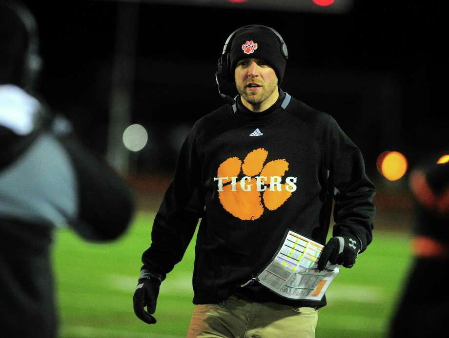 Bullard Havens head coach Chris Pace. Photo: Christian Abraham / Hearst Connecticut Media / Connecticut Post