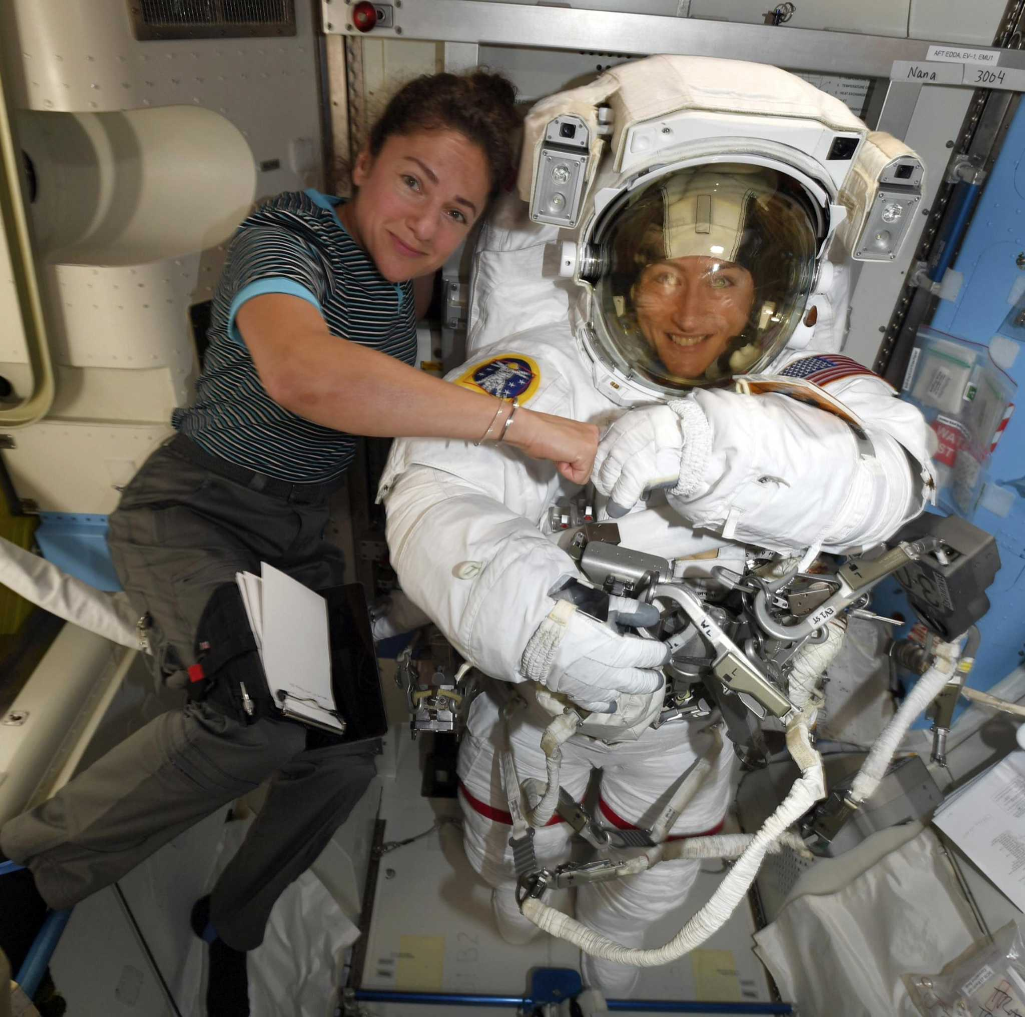 NASA astronauts are Guinness World Record holders for all-female spacewalk