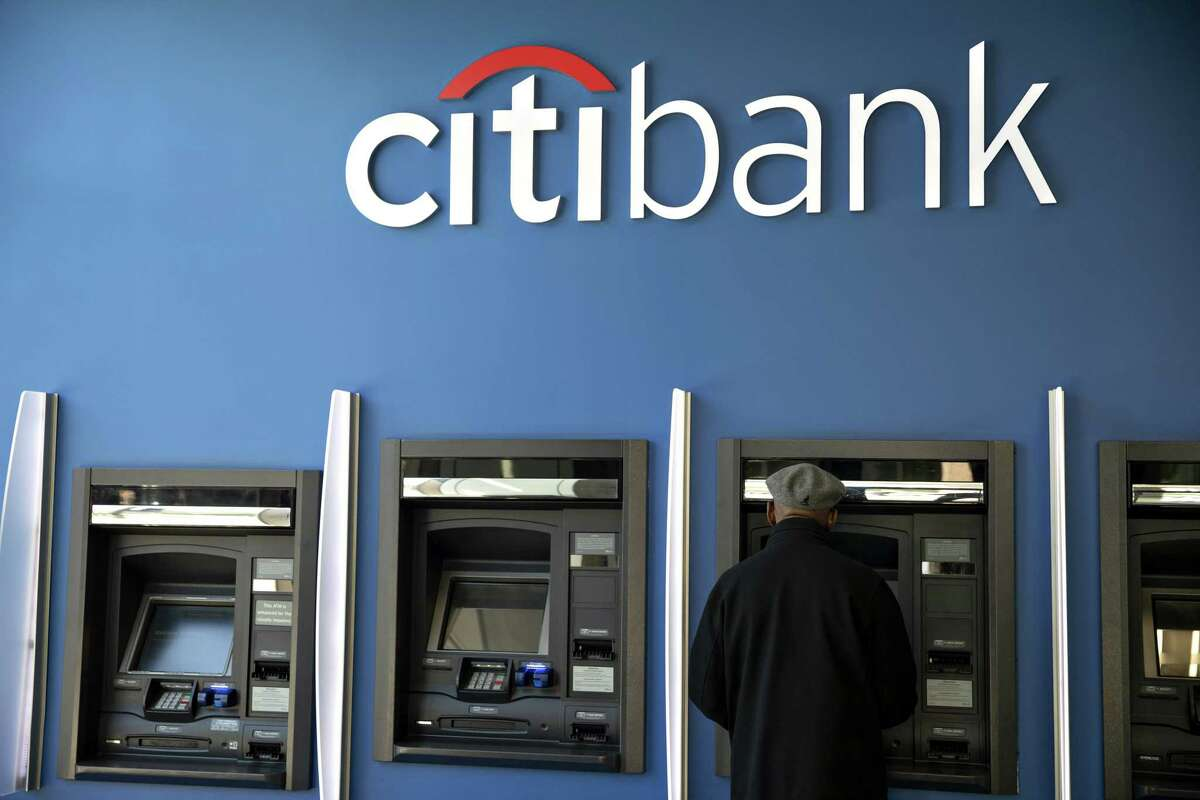 A customer uses an automated teller machine (ATM) at a Citigroup Inc. Citibank branch in Chicago, Illinois, U.S., on Saturday, Oct. 12, 2019. Citigroup is scheduled to release earnings figures on October 15. Photographer: Daniel Acker/Bloomberg