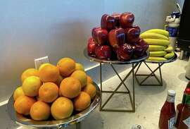 Fresh fruit at the Club SJC