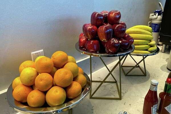 Fresh fruit at the Club SJC