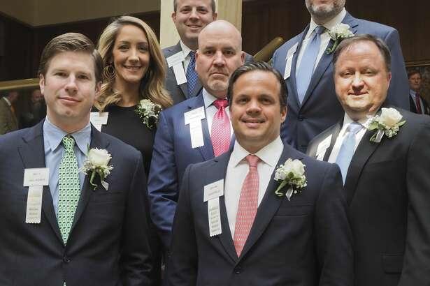 Members of Parsley Energy were honored May 8, 2018, by the Wildcat Committee.