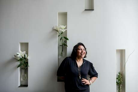 Chef Nora Haron stands for a portrait at Local Kitchen in San Francisco, California on  on September 27, 2019 in San Francisco, California. Haron is the culinary director for 4 Ps restaurant group and the forthcoming F—- You Up Bakery at Fearless Coffee due to open in November 2019.