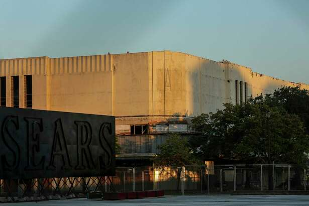 Rice University is working to renovate the former Midtown Sears building into the Ion. Photographed Wednesday, June 12, 2019, in Houston.