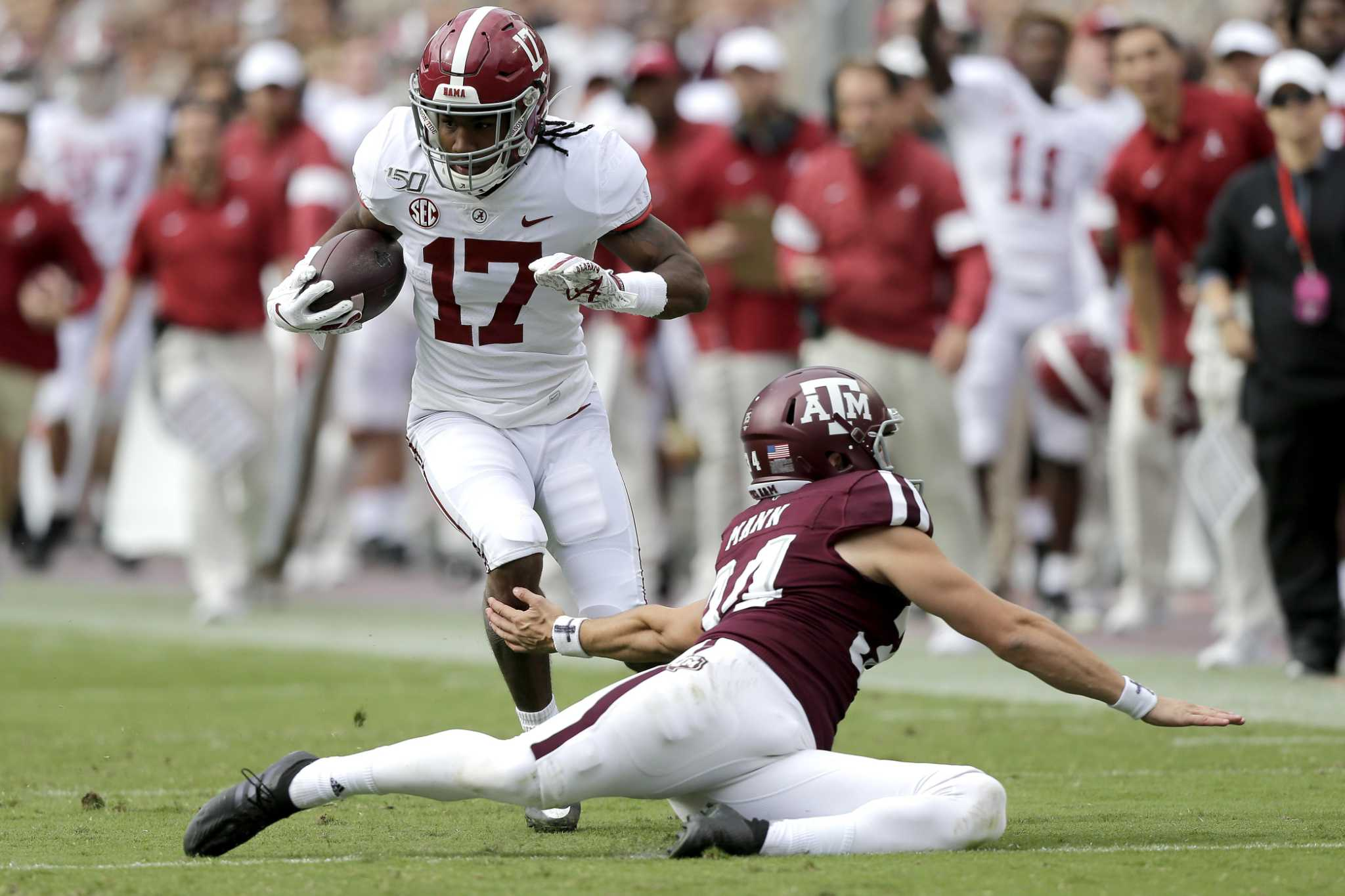 'Third phase' problems derail Aggies in loss to Alabama