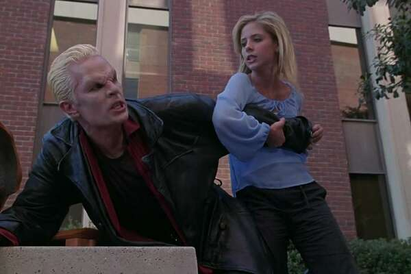 """Buffy the Vampire Slayer - Time it takes to binge: 6 days Created by Joss Whedon, """"Buffy the Vampire Slayer"""" is an ironic play on the popular """"high school is hell theme."""" After burning down the gym at her old high school, Buffy (played by Sarah Michelle Gellar) is forced to move to Sunnyside where she fights evil forces as a slayer. In the time it would take fans to binge the first seven seasons as they prepare for the recently announced reboot, one could drive 3,500 miles across the country, depending on the route. This slideshow was first published on theStacker.com"""