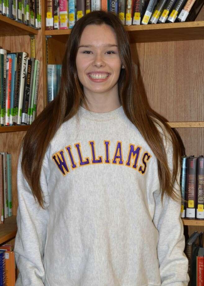 Valedictorian Josie Maynard