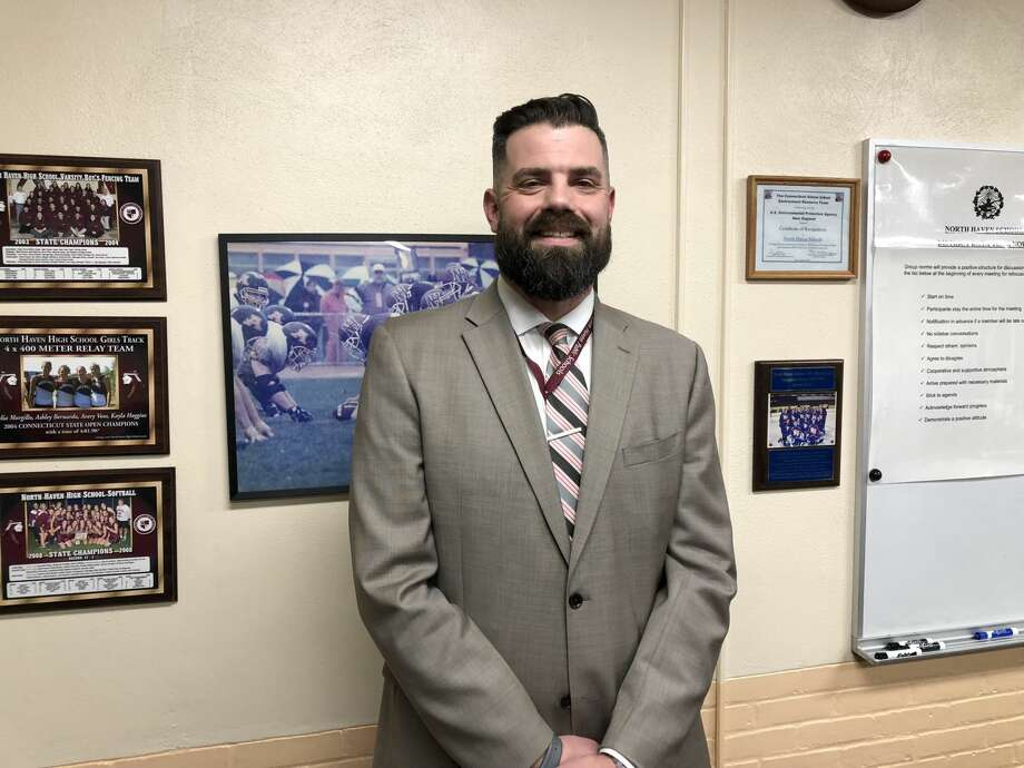 Patrick Stirk, the principal at Ridge Road Elementary School, was appointed as the next Superintendent of the North Haven Public Schools Thursday, Jan. 3.