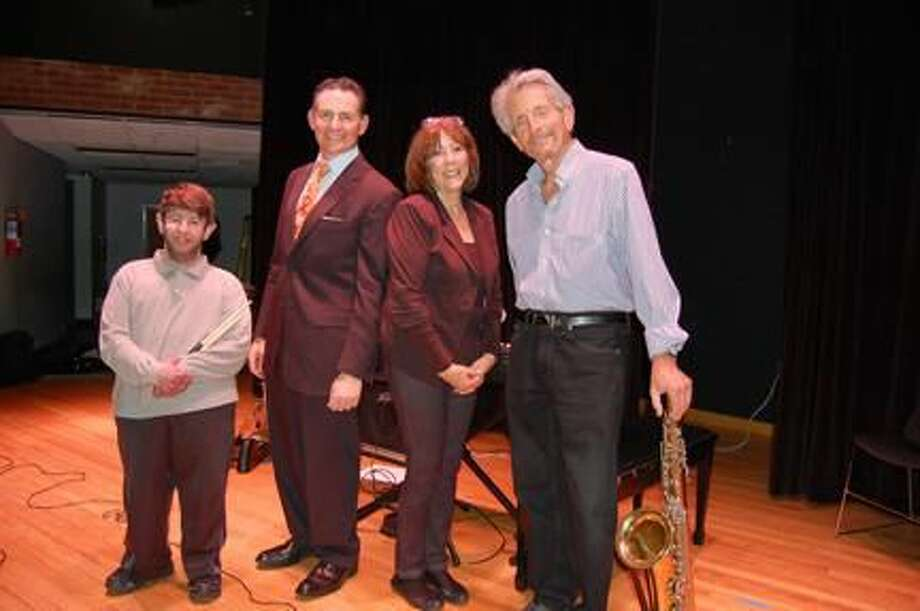 Submitted Photo From left, Noah Golden, Jeff Webber, Judy Webber, and Rich Moran.