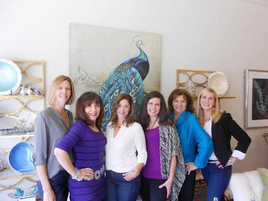 Submitted Photo Pictured at Design House Interiors are designers, from left to right: Kristen Eberhardt, Judi Granucci, Jennifer Napolitano, Nadia Dillon, Janice Serendi and Julie Albrecht. Missing from photo is Lindsay Fuller.