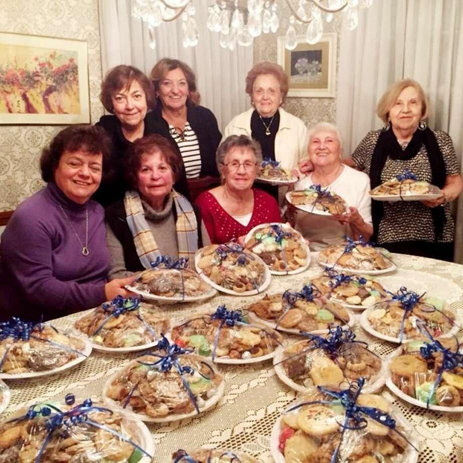 Submitted Photo Hamden Woman's Club members, standing: Annette LaVelle, Ellie Gaetano,Marge Guinti (Committee Chair), and Rosalie Loewenbaum; sitting: Barbara Aurora, Shirley Vanacore, Gloria Corso, and Mary Jane Landino.