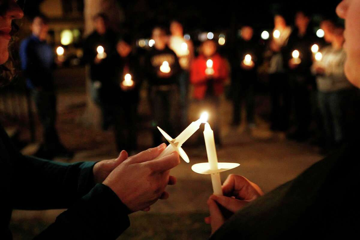 The Umbrella Center for Domestic Violence Services will host a candlelight vigil Tuesday, Oct. 15, from 6 to 7 p.m. at Shelton's Riverwalk Pavilion.