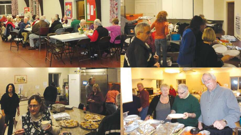 Submitted Photos The North Haven Rotary Club provides one of its Friday night Community Suppers at St. John's Episcopal Church.
