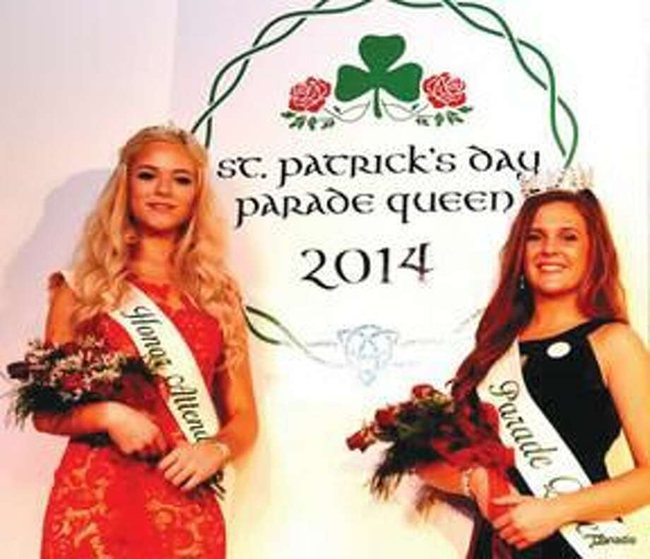 Submitted Photo Honor Attendant Morgan Hildebrandt, of North Haven, and Parade Queen Alexis Wheway, of Hamden.