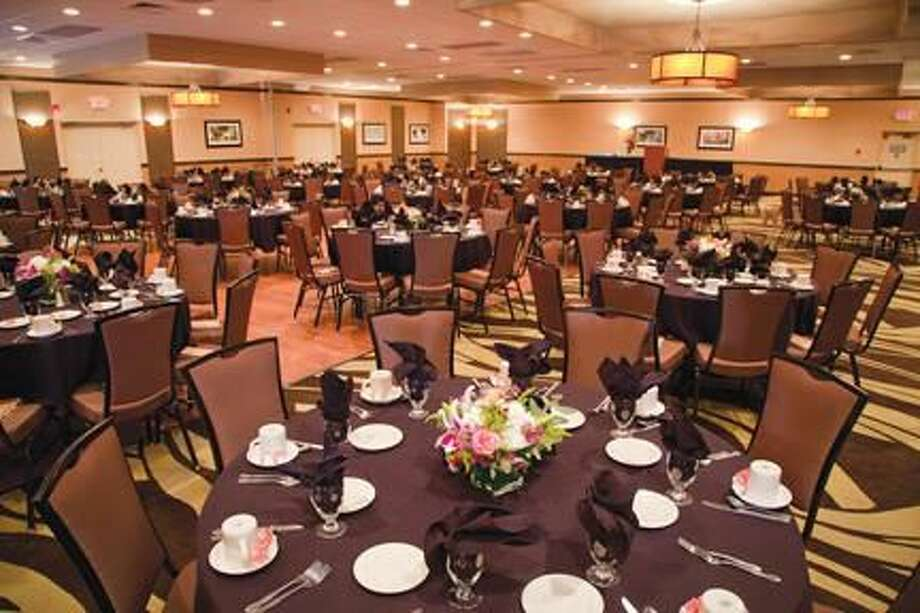 Submitted Photo The banquet hall at the new Best Western Plus in North Haven.