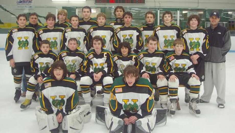The Hamden Bantam B youth hockey team was one of five teams selected to attend the NHL Winter Classic, which will take place Jan. 1, 2010 at Fenway Park in Boston. (Submitted photo)