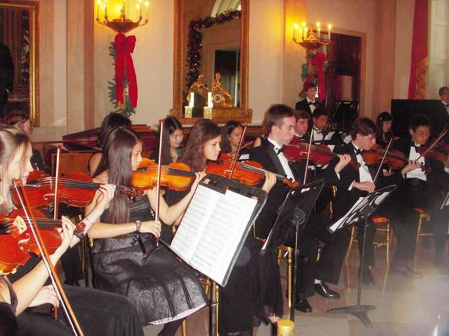 Submitted Photo Choate Rosemary Hall Chamber Orchestra recently had the honor of performing at a special private reception at the White House, Dec. 14.