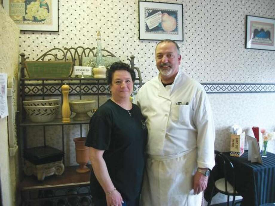 Photo by Lynn Fredricksen Pasquale and Patricia Puglia are celebrating the 30th anniversary of their restaurant and catering service — Everyday Gourmet, 3000 Whitney Ave., in Hamden.