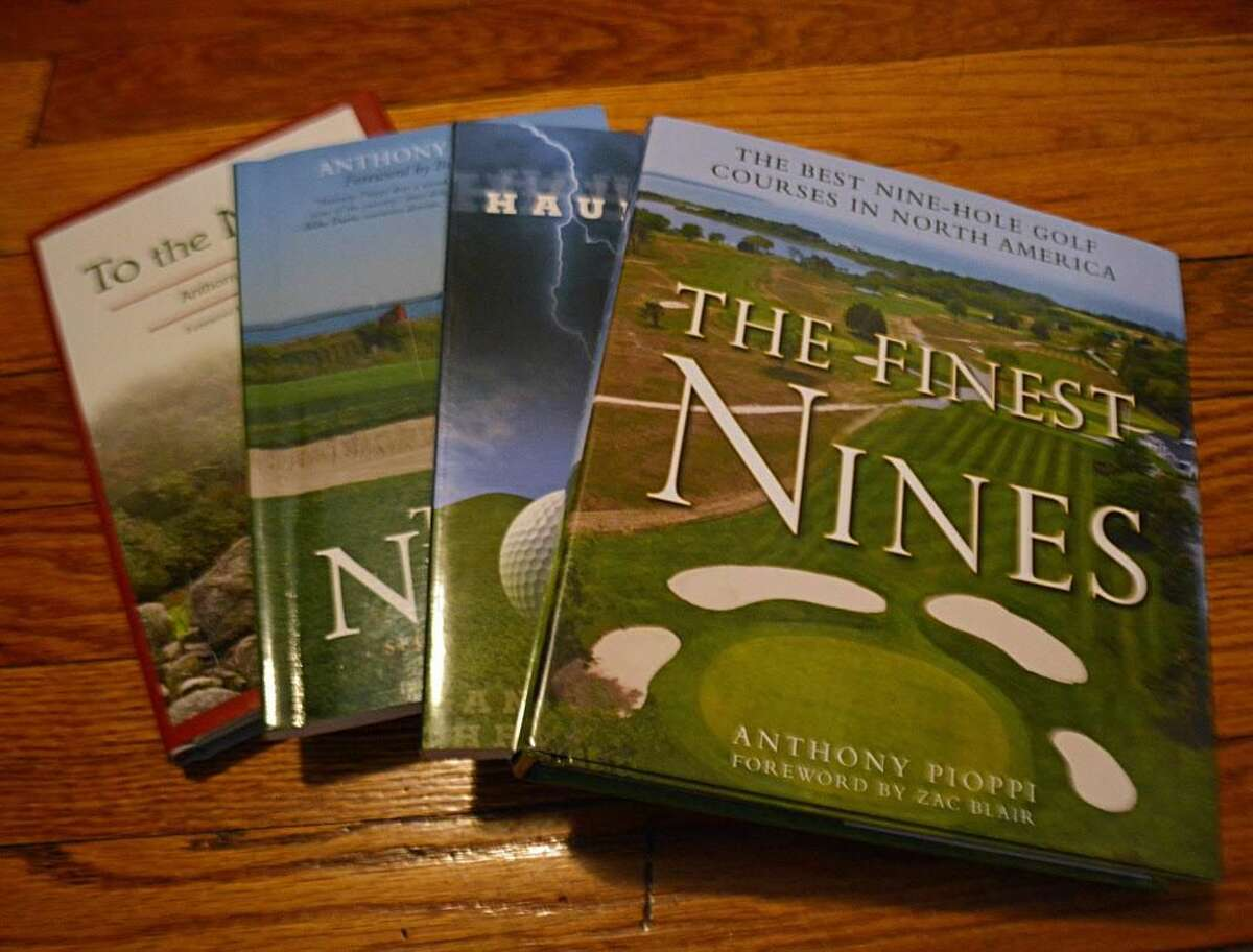 Anthony Pioppi, 55, of Middletown is author of five books about golf.