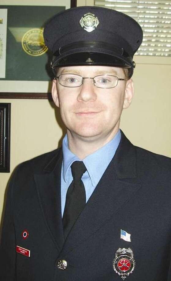Career Firefighter of the Year Scott Martus