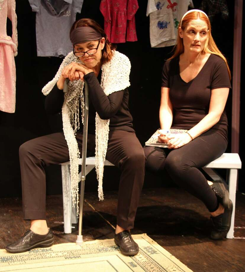 "Lucy Babbitt and Leigh Katz in ""Motherhood Out Loud."" (Contributed photo)"