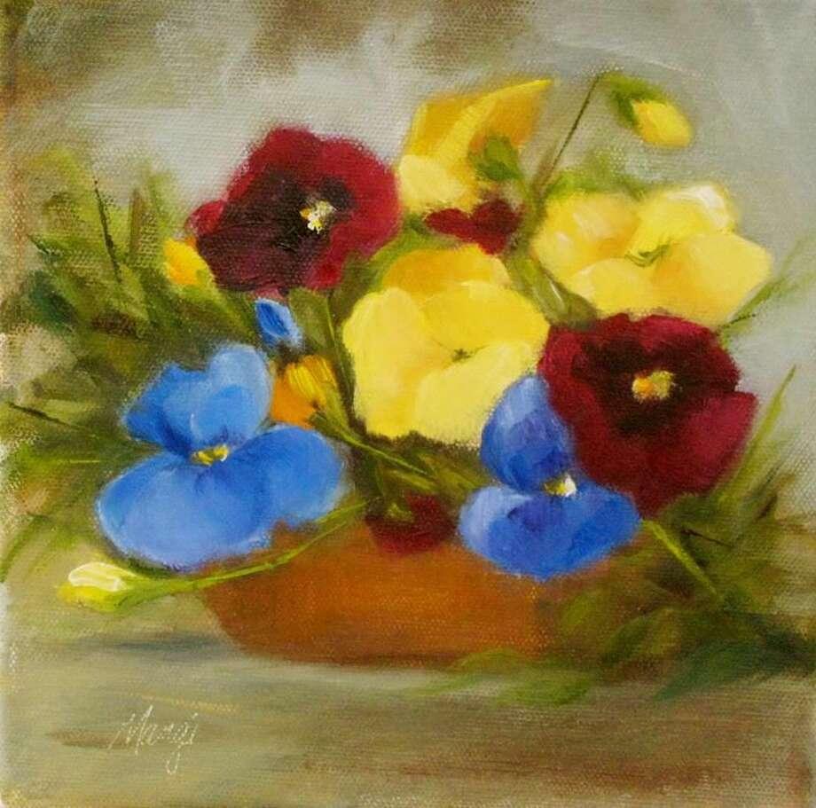 Spring Fever by Hamden Art League member Johanne Mangi.