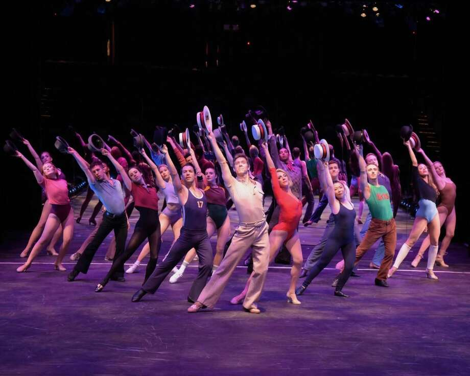 The Cast of  'A Chorus Line'