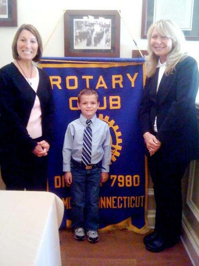 Submitted Photo The Rotary Club of Hamden has named Cole Arslanbas it's Student of the Month for May 2010.