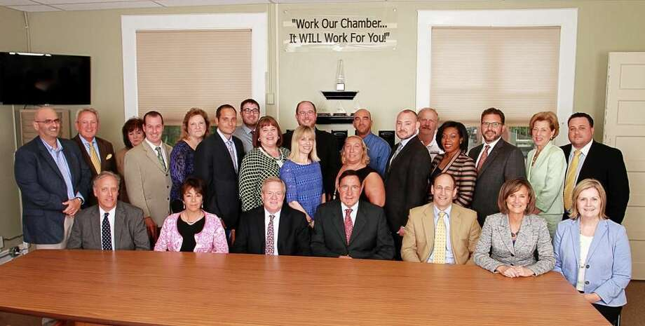 Submitted Photo Quinnipiac Chamber of Commerce 2015-2016 Board of Directors. Missing from photo are Kevin O'Rourke, Chairman of the Board, and Ron Hansen, Jr.