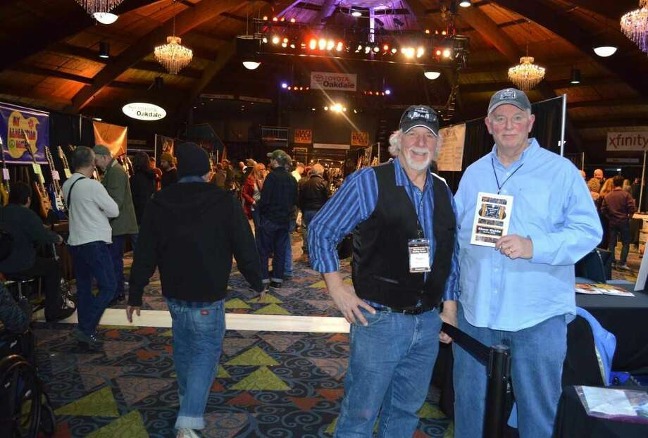 Guitar co-founders Peter Occhineri, left, and Kevin Kalagher