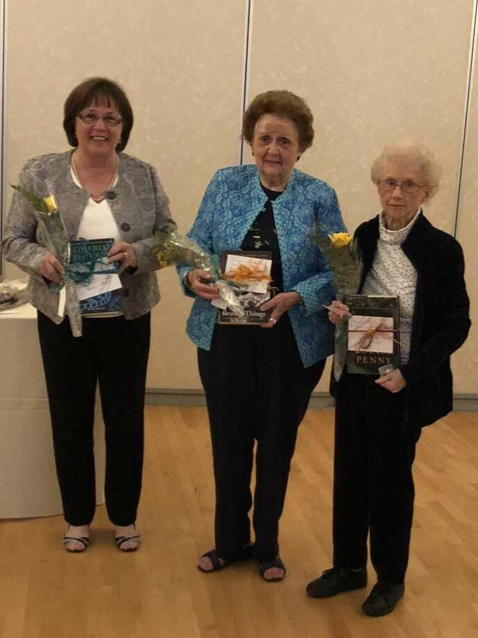 From left, Antionette Antonucci, Marge Giunti, and Irene Pixley.