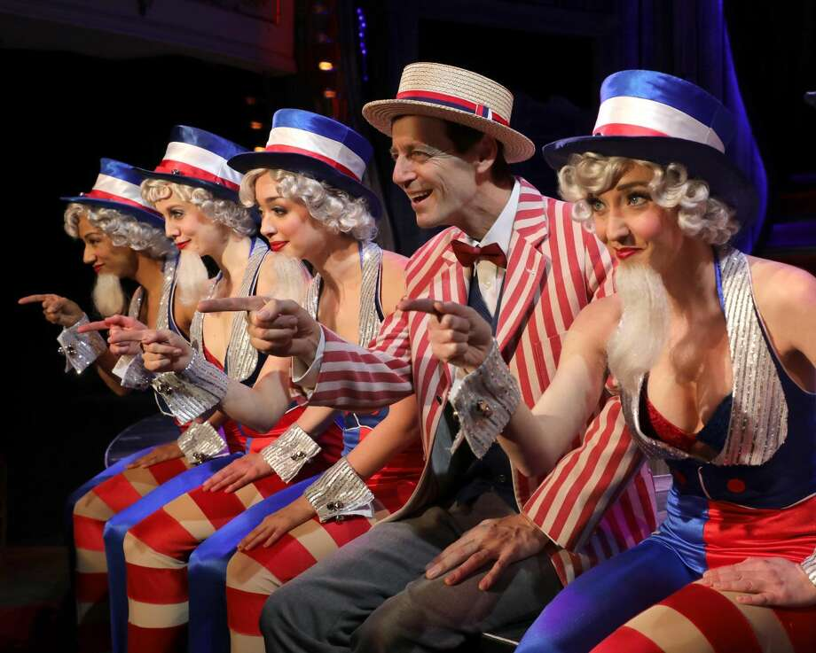 """A scene from """"The Will Rogers Follies."""""""